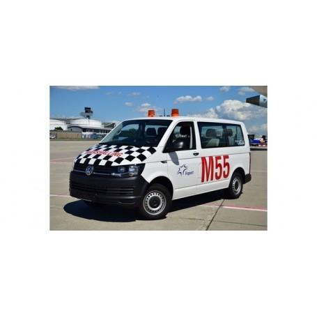 Herpa 094399 VW T6 Multivan 'Fraport Marshalling'