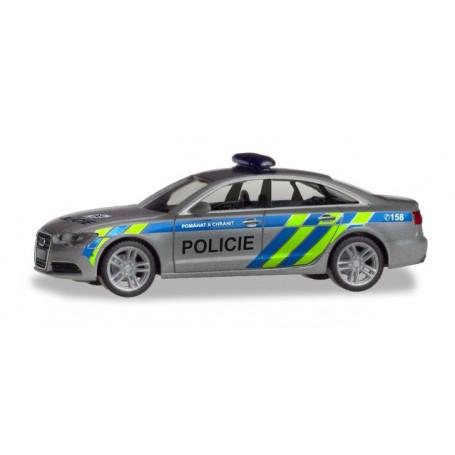 Herpa 094429 Audi A6 Limousine 'Polizei Prag'