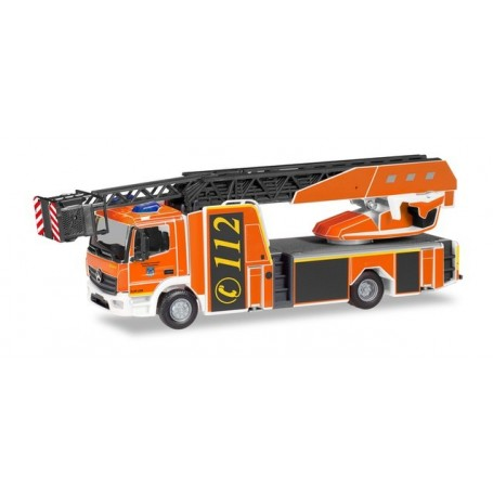 Herpa 094498 Mercedes-Benz Atego Rosenbauer turnable ladder truck L32A 'Holzminden fire Department'