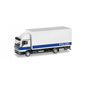 Herpa 094504 MAN TGL box truck with liftgate 'Brandenburg Police Department | logistic'