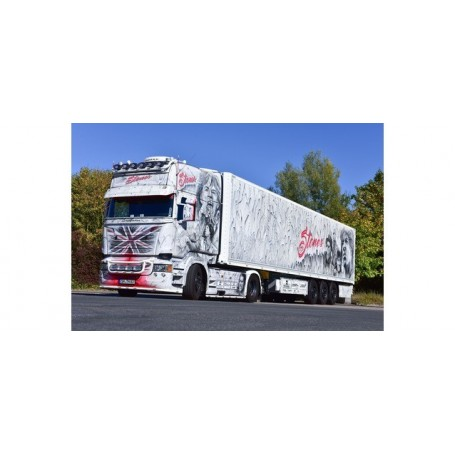 Herpa 121958 Scania R TL box semitrailer 'The Rolling Stones""