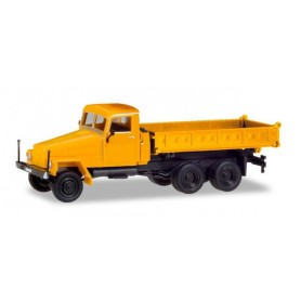 Herpa 308663 IFA G5 3-way discharge skip, orange (modified cabin and new construction)