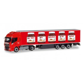 Herpa 310031 Iveco Stralis Hi-Way XP refrigerated box Trailer 'Nutella | Spedition Michel'