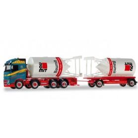 Herpa 310130 Volvo FH Gl. bulk truck and Trailer 'Matthiessen Logistik'
