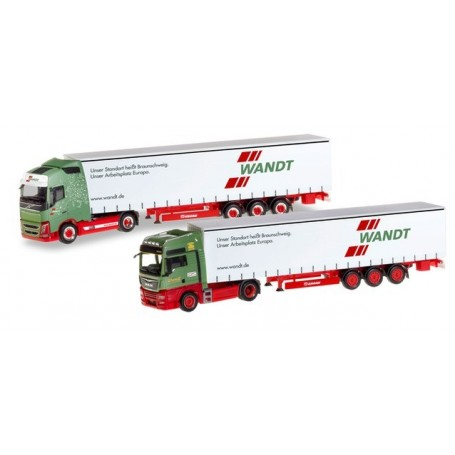 Herpa 310215 Set with two models '80th anniversary Spedition Wandt'