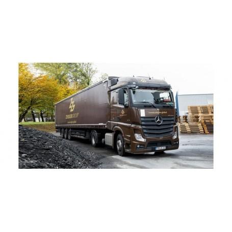 Herpa 310260 Mercedes-Benz Actros Streamspace curtain canvas semitrailer 'Ziegler Group' (Bayern | Plößberg)