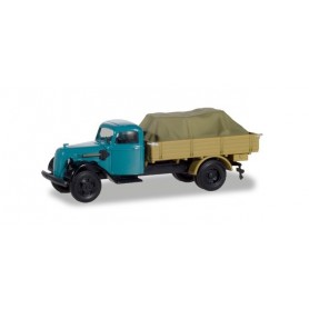 Herpa 310291 Ford V 3000 pick up truck with load under canvas