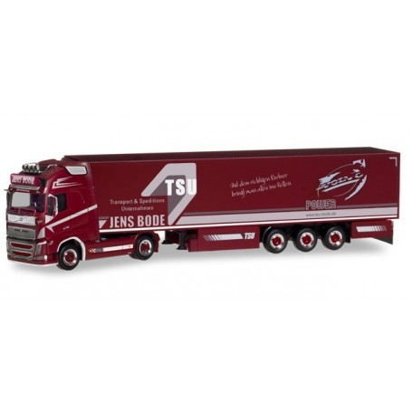 Herpa 310321 Volvo FH Gl. XL refrigerated box Trailer 'TSU Bode'