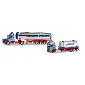 Herpa 310369 Set with two models '50th anniversary Spedition Anhalt'