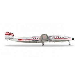 Herpa 558372-001 Flygplan TWA - Trans World Airlines Lockheed L-1649A Jetstream