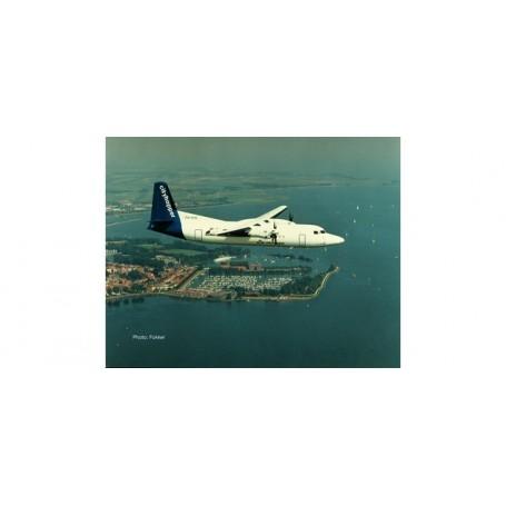 Herpa 559652 Flygplan KLM Cityhopper Fokker 50