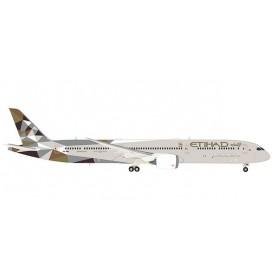 Herpa Wings 559676 Flygplan Etihad Airways Boeing 787-10 Dreamliner