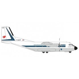 Herpa 559683 Flygplan Air France - Aéropostale Transall C-160
