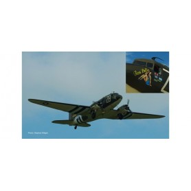 Herpa 559744 Flygplan U.S. Army Air Forces Douglas C-47A Skytrain - 84th Troop Carrier Squadron, RAF Ramsbury - Operation Nep...