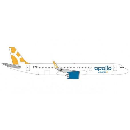 Herpa Wings 533065 Flygplan Novair Airbus A321 neo