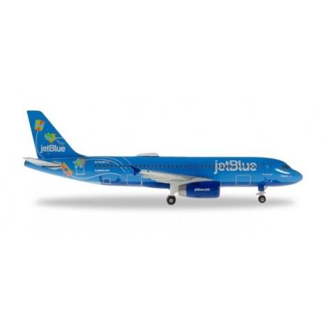 Herpa 533096 Flygplan JetBlue Airbus A320 ? N779JB 'Bluericua'