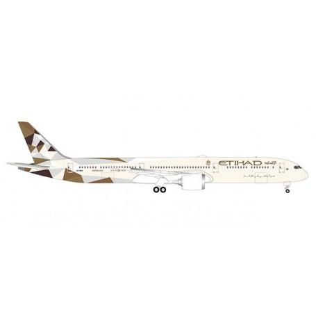 Herpa Wings 533119 Flygplan Etihad Airways Boeing 787-10 Dreamliner