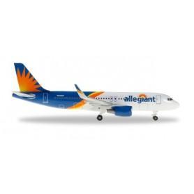 Herpa 533140 Flygplan Allegiant Air Airbus A320