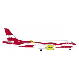 Herpa 533171 Flygplan airBaltic Airbus A220-300 'Latvia 100'