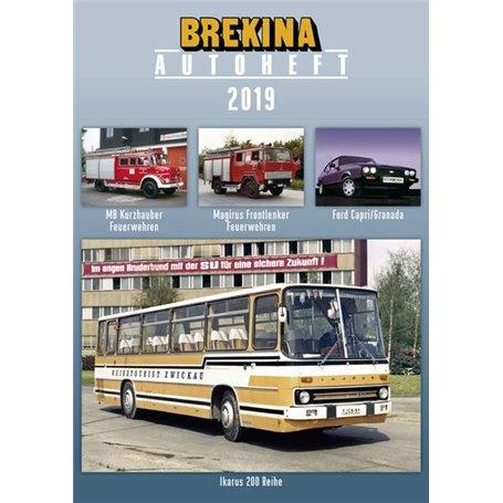 Brekina 12218 Brekina Autoheft 2019