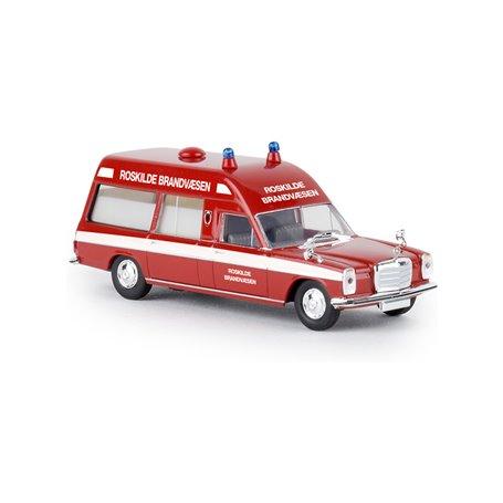 "Brekina 13823 Mercedes Benz 8 KTW ""Roskilde Brandvaesen"""