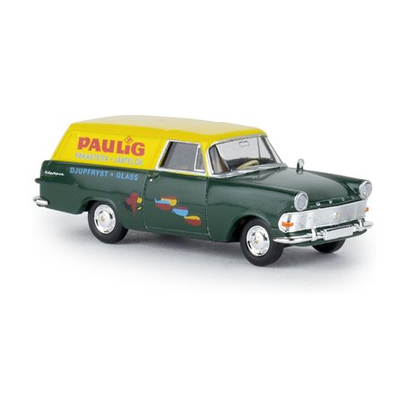 "Brekina 20183 Opel P2 Skåp ""Paulig"" (FIN), TD"