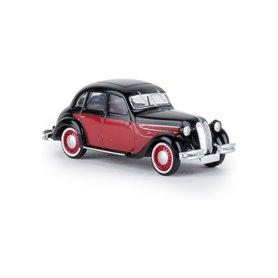 Brekina 24555 BMW 326 svart/röd, TD
