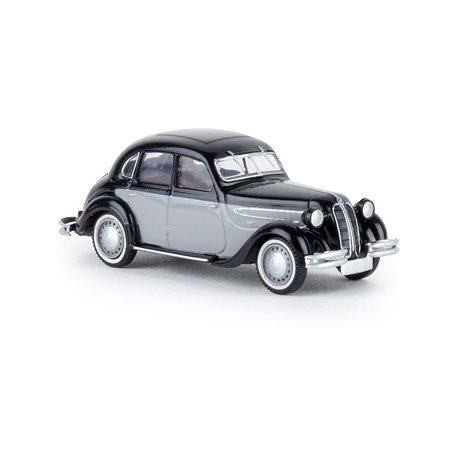 Brekina 24556 BMW 326 svart/grå, TD