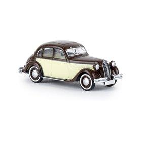 Brekina 24560 BMW 326 brun/elfenben, TD