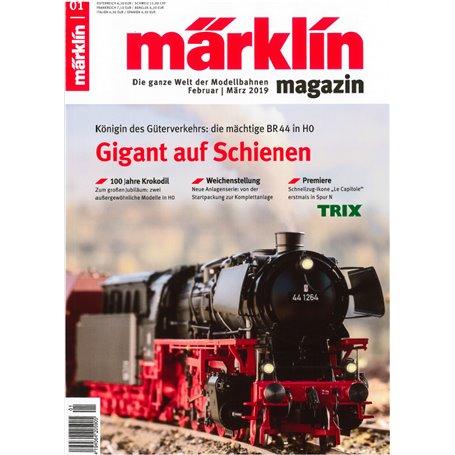 Märklin 331025 Märklin Magazin 1/2019 Tyska