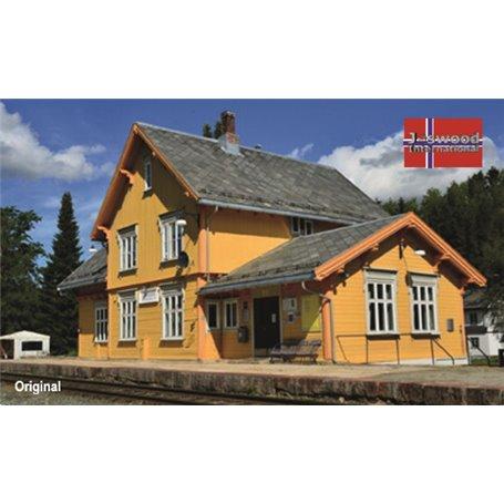 """Joswood 25019 Norsk tågstation """"Singås"""""""