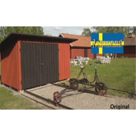 Joswood 25023 Svenskt Dresinlokstall