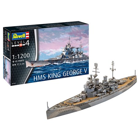 Revell 05161 HMS King George V