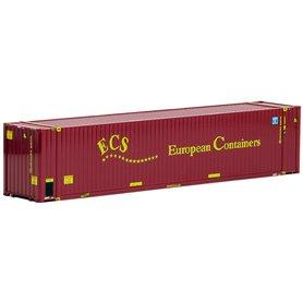 """Herpa 491820 Container 45-fots HighCube """"ECS European"""" (AWM)"""