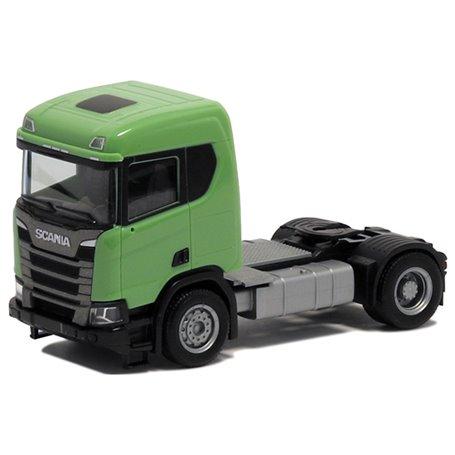 Herpa 580440 Dragbil Scania CR 20, 2-axlig, grön