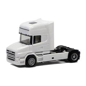 Herpa 580512 Dragbil Scania Hauber R Topline 2-axlig, vit