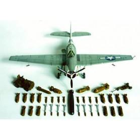 Accurate Miniatures 9900 Tillbehörssats för flygplan