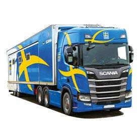 "Bil & Trailer Scania R Aero ""Ski Team Sweden"""