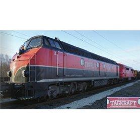 """B Models 20909 Diesellok klass CFL 1802 """"Svensk Tågkraft"""" digital"""