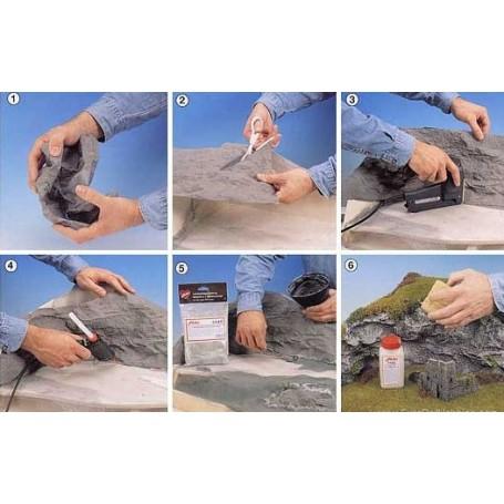 Heki 3501 Bergsfolie - Granit