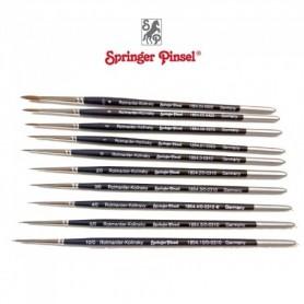 Springer Pinsel 1854.10-0 Pensel Kolinsky Mårdhår, storlek 10|0, rund