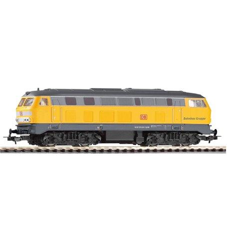 "Piko 57802 Diesellok klass BR 218 typ DB Netz ""Bahnbau Gruppe"""