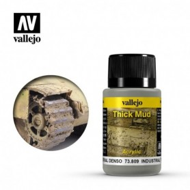 Vallejo 73809 Weathering Effects Industrial Thick Mud 40ml