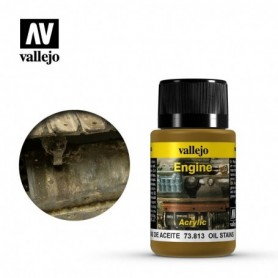 Vallejo 73813 Weathering Effects Oil Stains 40ml