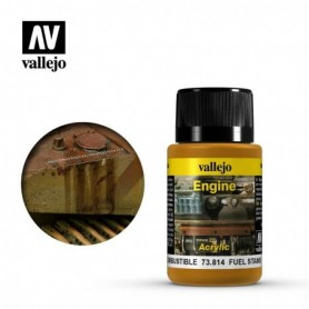 Vallejo 73814 Weathering Effects Fuel Stains 40ml