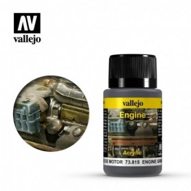 Vallejo 73815 Weathering Effects Engine Grime 40ml