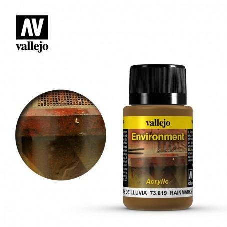 Vallejo 73819 Weathering Effects Rainmarks 40ml