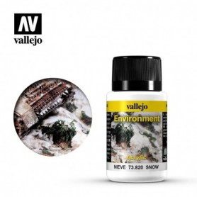Vallejo 73820 Weathering Effects Snow 40ml