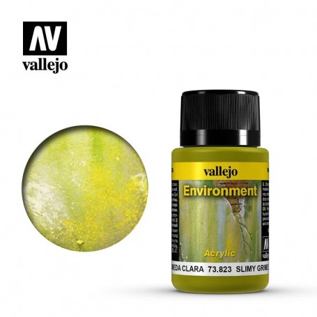 Vallejo 73823 Weathering Effects Slime Grime Light 40ml