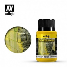 Vallejo 73827 Weathering Effects Moss And Lichen Effect 40ml